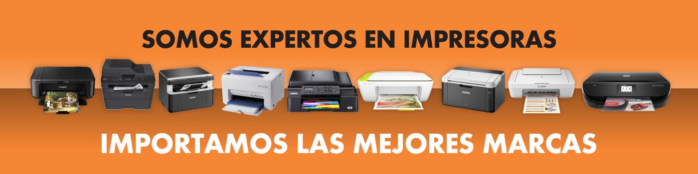 Somos Expertos en Impresoras Banner Main